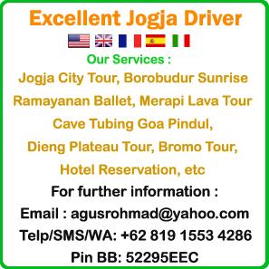 excellent jogja driver