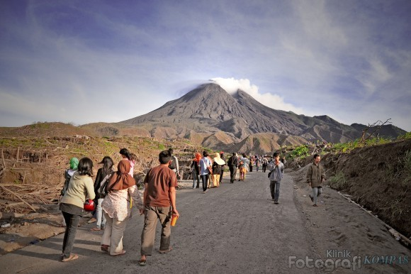 Merapi One of The Most Active Volcano in Java