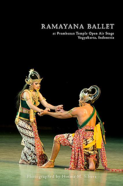 Ramayana Ballet on Prambanan Open Theater